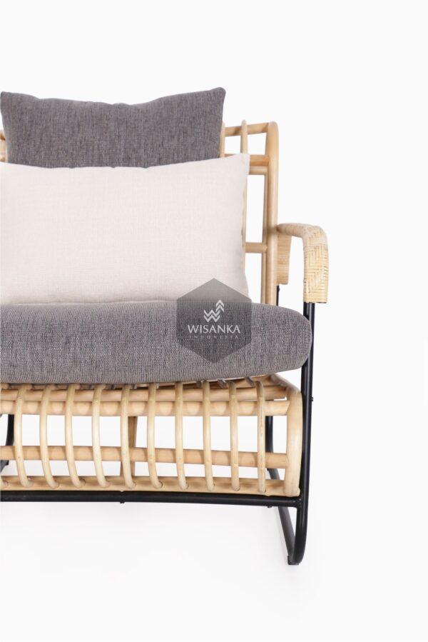 Akko 2 Seater - Living Natural Rattan Furniture detail 1
