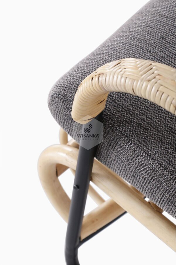 Akko 2 Seater - Living Natural Rattan Furniture detail 2