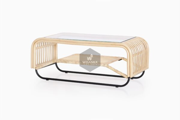 Akko Coffe Table - Natural Rattan Furniture